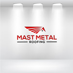 Mast Metal Roofing Logo - Entry #152