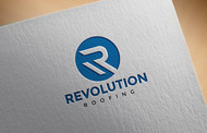 Revolution Roofing Logo - Entry #483