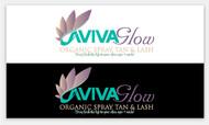 AVIVA Glow - Organic Spray Tan & Lash Logo - Entry #34