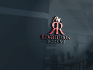 Revolution Roofing Logo - Entry #404