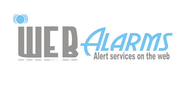 Logo for WebAlarms - Alert services on the web - Entry #90