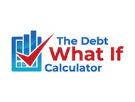 The Debt What If Calculator Logo - Entry #36