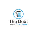 The Debt What If Calculator Logo - Entry #48
