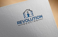Revolution Roofing Logo - Entry #448