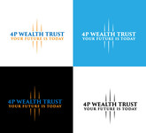 4P Wealth Trust Logo - Entry #163