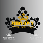 Either Midtown Pawn Boutique or just Pawn Boutique Logo - Entry #94