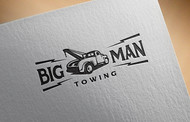 Big Man Towing Logo - Entry #81