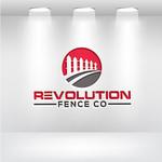 Revolution Fence Co. Logo - Entry #105