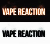 Vape Reaction Logo - Entry #86