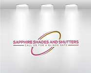 Sapphire Shades and Shutters Logo - Entry #191
