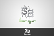Simply Binary Logo - Entry #212