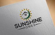 Sunshine Homes Logo - Entry #187