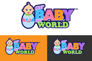 Logo for our Baby product store - Our Baby Our World - Entry #110