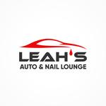 Leah's auto & nail lounge Logo - Entry #90