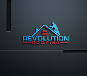 Revolution Roofing Logo - Entry #68