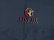 Live Fit Stay Safe Logo - Entry #263