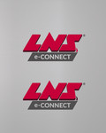 LNS Connect or LNS Connected or LNS e-Connect Logo - Entry #57