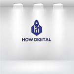 How Digital Logo - Entry #82