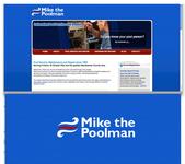 Mike the Poolman  Logo - Entry #67