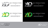 Corporate Logo Design 'AD Productions & Management' - Entry #146