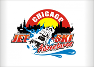 Chicago Jet Ski Adventures Logo - Entry #53