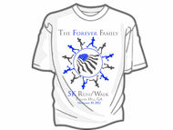The Forever Family 5K Logo - Entry #12