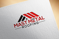 Mast Metal Roofing Logo - Entry #98