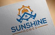 Sunshine Homes Logo - Entry #493