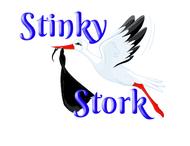 Stinky Stork Logo - Entry #49