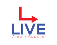 LiveDream Apparel Logo - Entry #248