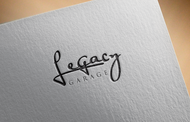 LEGACY GARAGE Logo - Entry #172