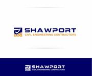 Shawport Civil Engineering Contractors Logo - Entry #28