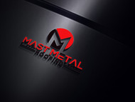 Mast Metal Roofing Logo - Entry #129