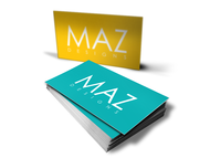 Maz Designs Logo - Entry #239