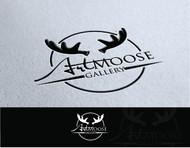 ArtMoose Gallery Logo - Entry #25