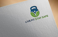 Live Fit Stay Safe Logo - Entry #21