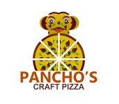 Pancho's Craft Pizza Logo - Entry #13