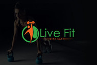 Live Fit Stay Safe Logo - Entry #84