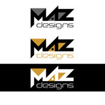 Maz Designs Logo - Entry #110