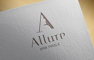 Allure Spa Nails Logo - Entry #117