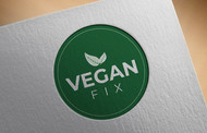 Vegan Fix Logo - Entry #214