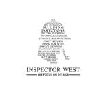 Inspector West Logo - Entry #90