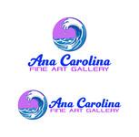 Ana Carolina Fine Art Gallery Logo - Entry #12