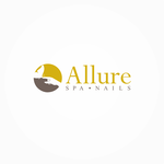 Allure Spa Nails Logo - Entry #148