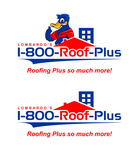 1-800-Roof-Plus Logo - Entry #99