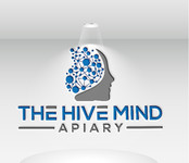 The Hive Mind Apiary Logo - Entry #27