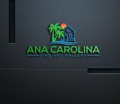 Ana Carolina Fine Art Gallery Logo - Entry #217