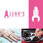 Leah's auto & nail lounge Logo - Entry #37
