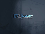 CA Coast Construction Logo - Entry #49