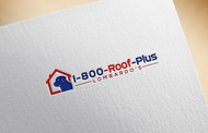 1-800-Roof-Plus Logo - Entry #132